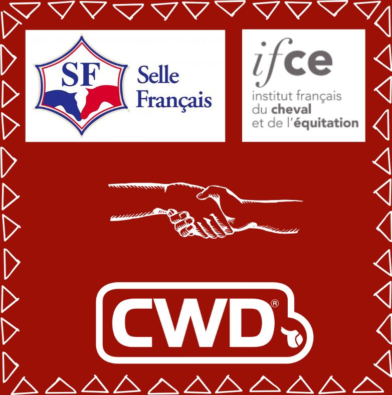 CWD x Stud Book Selle Français et l'IFCE