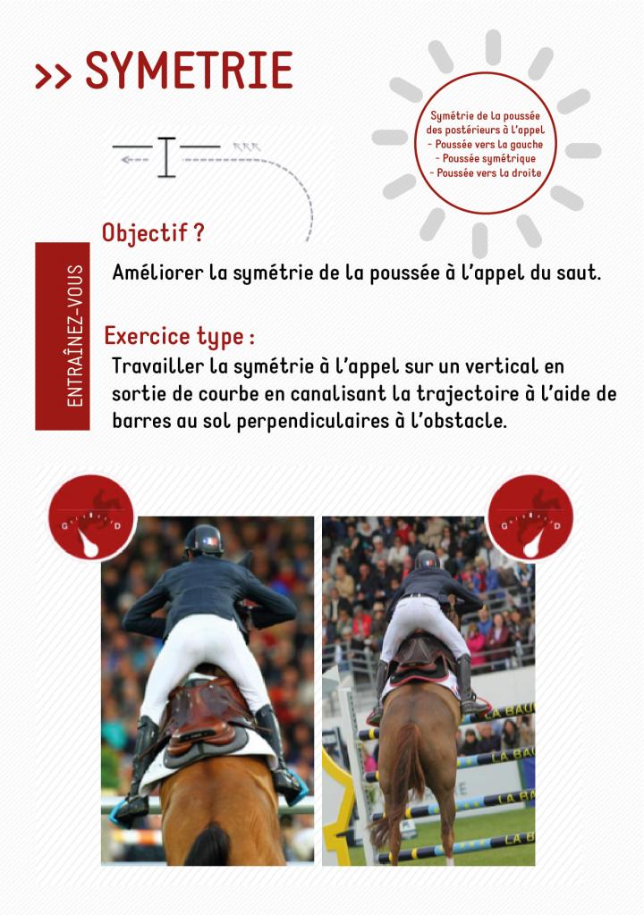 La symétrie du cheval