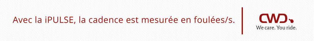 Sangle iPULSE mesure la cadence du cheval