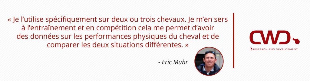 Citation Eric Muhr utilisation sangle iPULSE