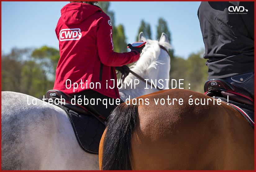 Option iJUMP INSIDE : la tech débarque dans votre écurie !