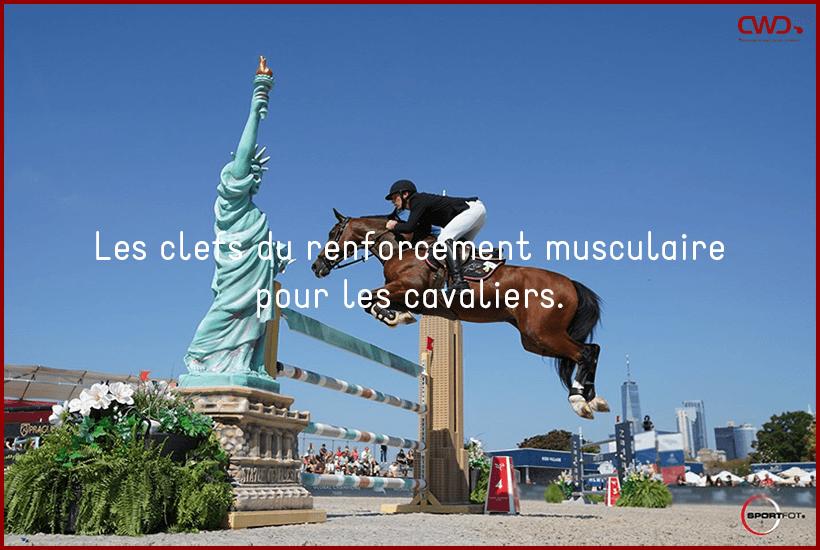 Les clefs du renforcement musculaire pour les cavaliers.