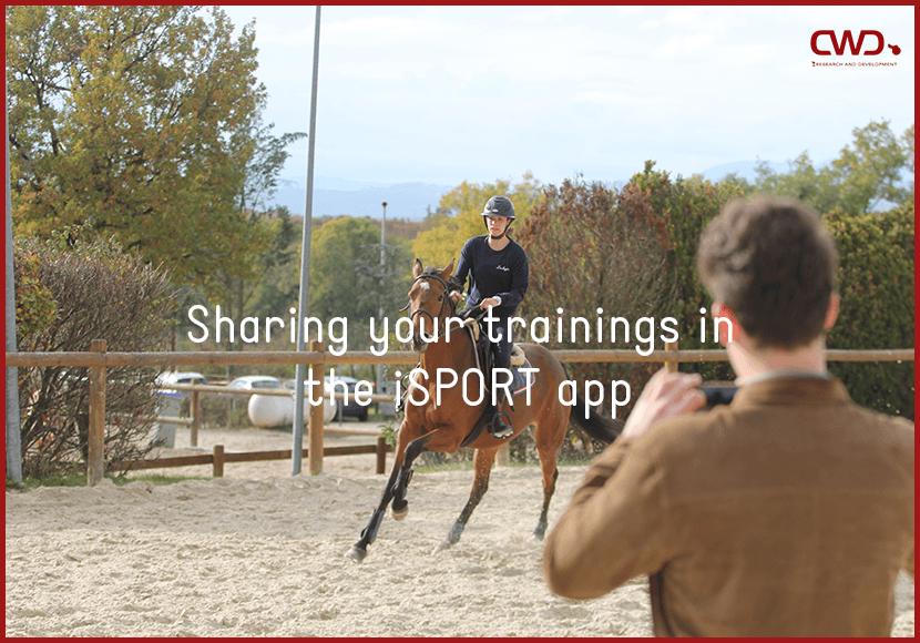 sharing trainings isport app